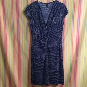 BCBGMaxazria Laila blue dress